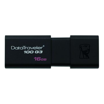 Kingston DataTraveler 100 G3 16GB USB3.0   隨身碟-黑