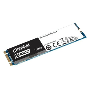 Kingston A1000 480GB M.2 PCIe 3DTLC SSD5年