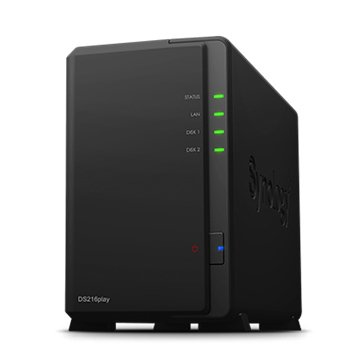 Synology DS216Play 2Bay網路儲存伺服器