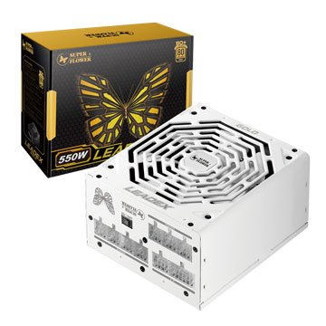 SUPER FLOWER Leadex Gold 550W/80+金牌電源供應器