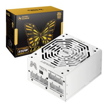SUPER FLOWER Leadex Gold 650W/80+金牌電源供應器