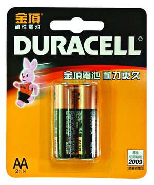 DURACELL 3號鹼性電池*2