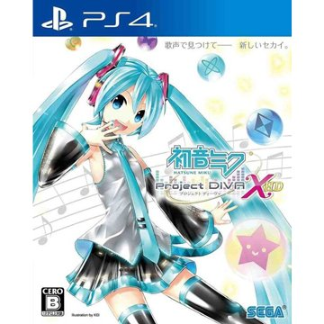 PS4 初音未來-Project DIVA- X HD
