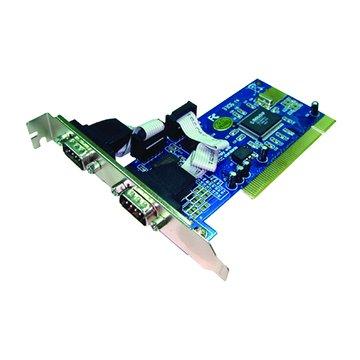 GALILEO 伽利略 PTR02 2埠RS-232卡PCI