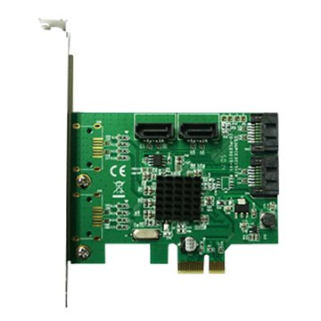PES340A 4埠SATA III擴充卡PCI-E