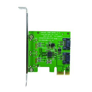 伽利略 PES320A 2埠SATA III擴充卡PCI-E