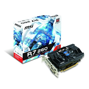 R7 260/1GD5/OC 顯示卡