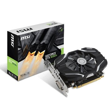 微星 GeForce GTX 1050 Ti 4G OC