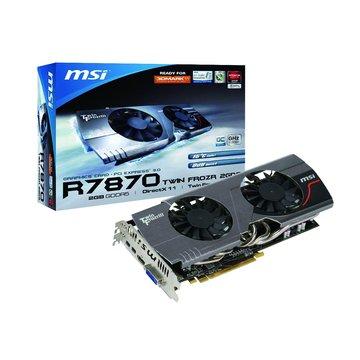 R7870 TwinFrozr/2GD5/OC 顯示卡