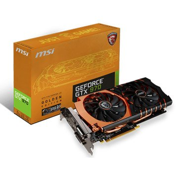GTX970 GAMING 4G Golden 黃金版顯卡