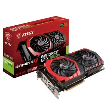 MSI GeForce GTX 1080 Ti GAMING X 11G顯卡