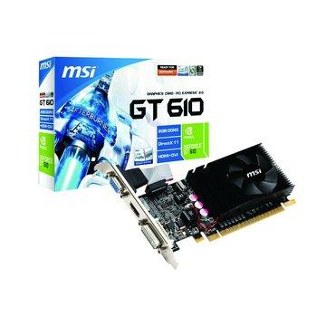 N610GT-MD2GD3/LP 顯示卡