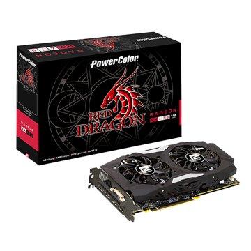 AXRX470 4GBD5-3DHD/OC RedDragon 4GB