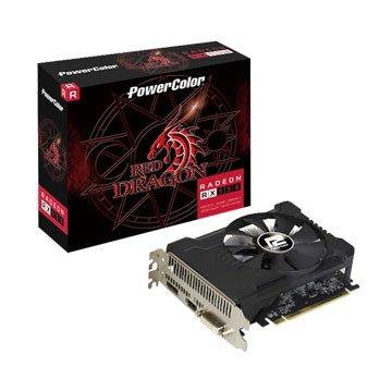 撼讯 AXRX 550 2GBD5 DHV2/OC RedDragon显卡