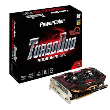 TurboDuo R9 280 3GB GDDR5 OC 顯示卡
