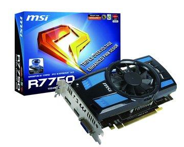 R7750 PE/1GD5/OC 顯示卡