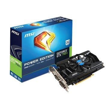 N750Ti PE 2GD5/OC/DDR5/2G顯示卡