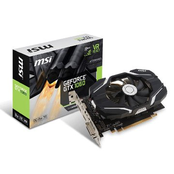 GeForce GTX 1060 3G OCV1 PCI-E顯示卡
