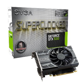 艾維克EVGA GTX1050 2GB SC GAMING ACX2.0