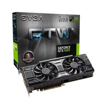 艾維克EVGA GTX1060 3GB FTW+ GAMING ACX3.