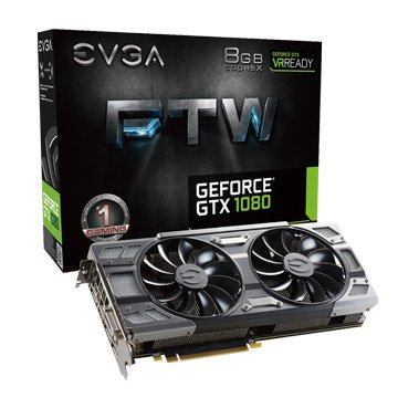 EVGA GTX1080 8GB FTW BP 2BIOS ACX3