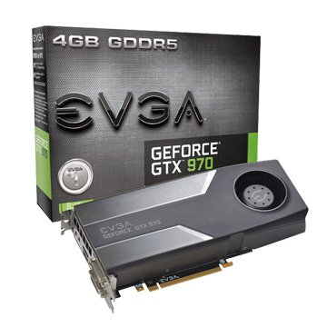 EVGA 艾維克 GTX970 4GB (REF Blower)顯示卡