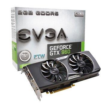 GTX960 2GB FTW ACX2.0顯示卡