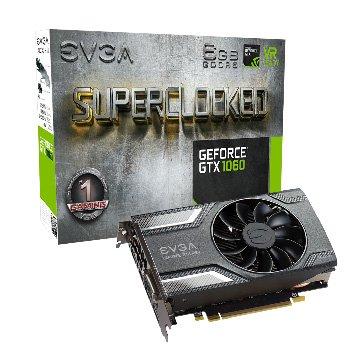 EVGA GTX1060 6GB SC GAMING ACX2.0
