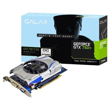 GALAX GTX750Ti OC 2GB DDR5 顯示卡