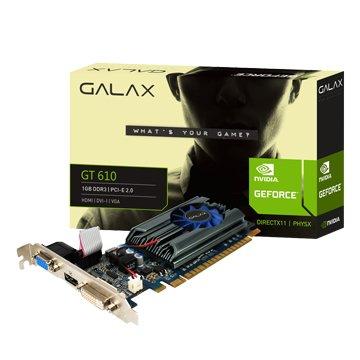 GT610 PCI-E 1GB DDR3 顯示卡