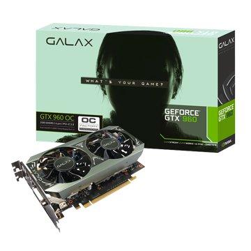 GALAX GTX960 OC 2GB GDDR5 顯示卡
