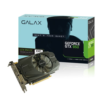 GALAX GTX950 OC 2GB DDR5