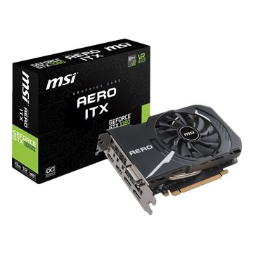 MSI GeForce GTX 1060 AERO 6G OC