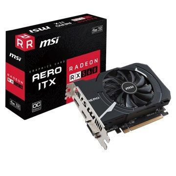 MSI 微星 RX 560 AERO ITX 4G OC