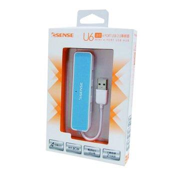 U6迷你4埠USB2.0 HUB