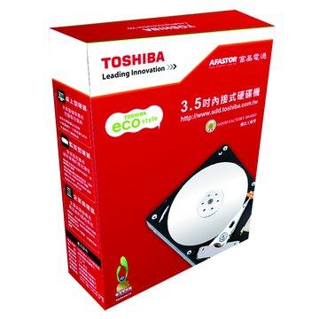 TOSHIBA 東芝 3TB 3.5吋 32MB 5700轉 SATAIII 影音監控硬碟(DT01ABA300V)