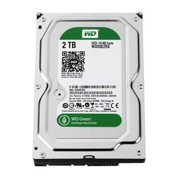 2TB 3.5吋 64MB 7200轉 SATAIII 裝機硬碟(WD20EZRX-2Y/P)