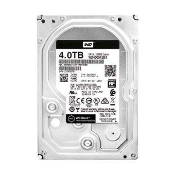 WD 4TB 3.5吋 256MB 7200转 SATAIII 黑标硬盘(4005FZBX-5Y/P)