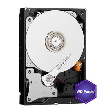 WD 2TB 3.5吋 64MB SATAIII 紫标硬盘(20PURZ)
