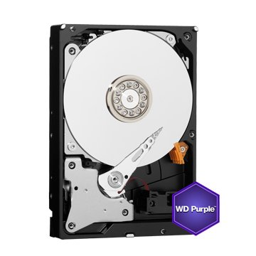 WD 3TB 3.5吋 64MB SATAIII 紫标硬盘(30PURZ)