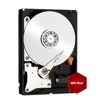 6TB 3.5吋 64MB SATAIII 紅標硬碟(WD60EFRX-3Y/P)