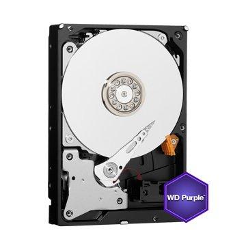 WD 6TB 3.5吋 64MB SATAIII 紫标硬盘(60PURZ)