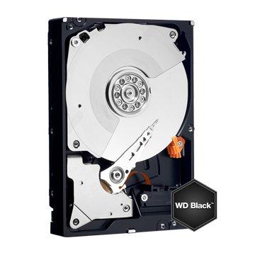 6TB 3.5吋 128MB 7200轉 SATA 黑標硬碟(WD6001FZWX)