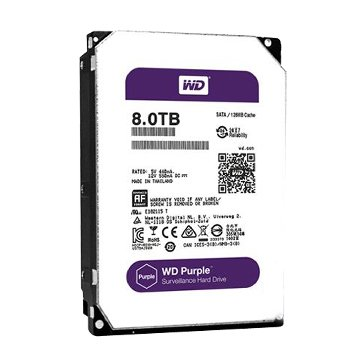 WD 8TB 3.5吋 128MB SATAIII 紫标硬盘(80PURZ)