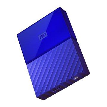 WD My Passport WESN 2TB 2.5吋 外接硬碟-藍(星光折扣)