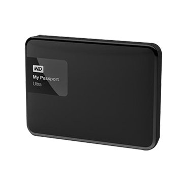 WD My Passport Ultra 1TB 2.5吋 外接硬碟-黑