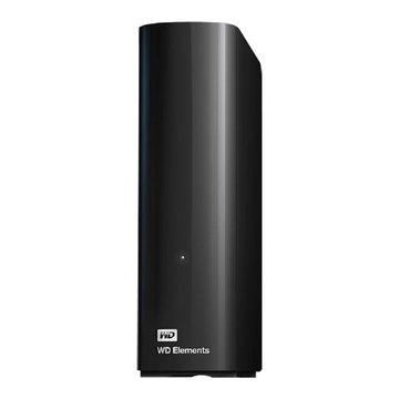 WD 威騰 Elements 4TB 3.5吋 外接硬碟-黑