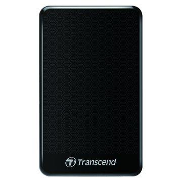 Transcend 創見 StoreJet 25A3 防震 1TB 2.5吋 外接硬碟-黑