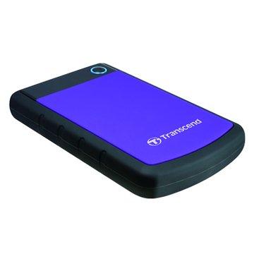 Transcend StoreJet 25H3 軍規防震 2TB 2.5吋 外接硬碟-紫