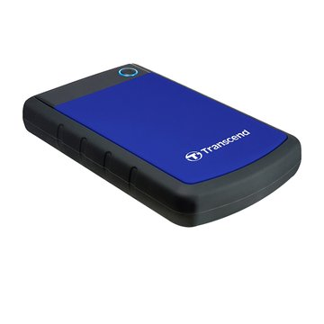 StoreJet 25H3 軍規防震 2TB 2.5吋 外接硬碟-藍